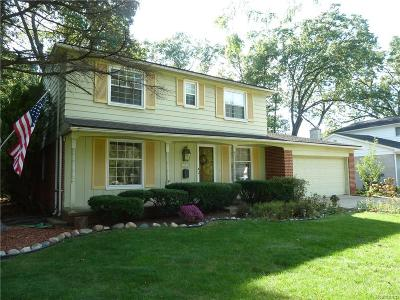 Livonia MI Single Family Home For Sale: $315,000