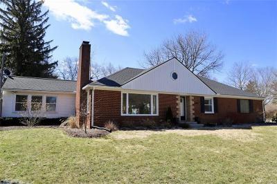 Ann Arbor Single Family Home For Sale: 2000 E Stadium Boulevard