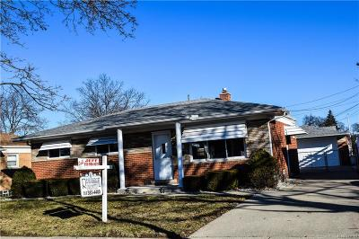 Trenton Single Family Home For Sale: 2846 Canterbury Street
