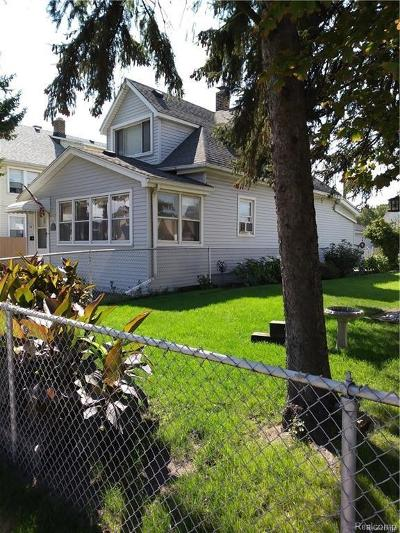 River Rouge MI Single Family Home For Sale: $55,000