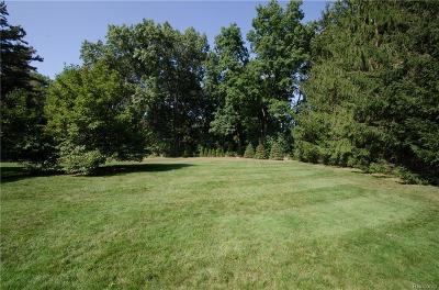 Bloomfield Twp Residential Lots & Land For Sale: 4062 Overlea Lane