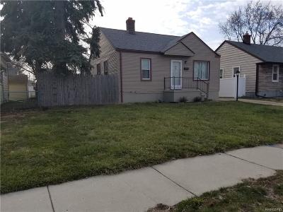 Wyandotte Single Family Home For Sale: 1280 Electric Street