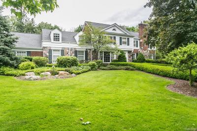 Bloomfield Twp Single Family Home For Sale: 3188 Bradway Boulevard