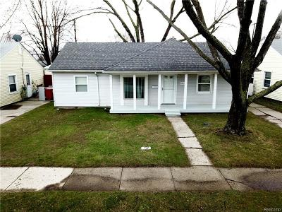 Warren, Eastpointe, Roseville, St Clair Shores Single Family Home For Sale: 26271 Woodmont Street