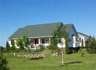 Lapeer County Single Family Home For Sale: 4297 Slattery Road