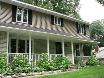 West Bloomfield, West Bloomfield Twp Single Family Home For Sale: 2385 Horace Street