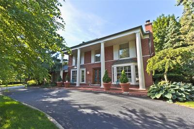 Bloomfield Twp Single Family Home For Sale: 2929 Bradway Boulevard