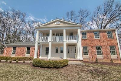 Bloomfield Twp Single Family Home For Sale: 1670 Keller Lane