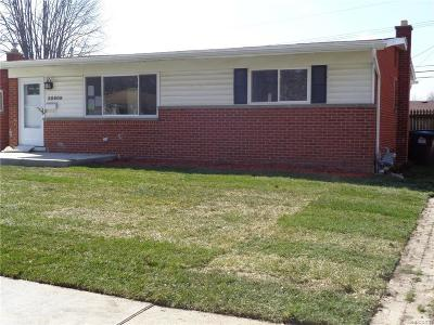 Taylor Single Family Home For Sale: 25609 Champaign Street