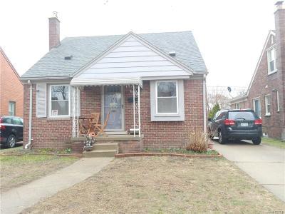 Dearborn Single Family Home For Sale: 1808 Kingsbury Avenue