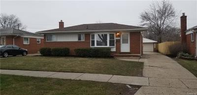 Warren, Eastpointe, Roseville, St Clair Shores Single Family Home For Sale: 23735 Panama Avenue