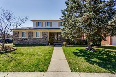 Macomb County, Oakland County, Wayne County Single Family Home For Sale: 38615 Bramham Street