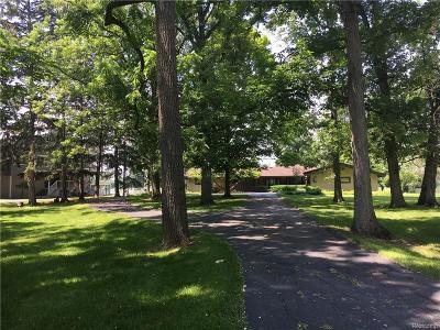 Grosse Ile, Gross Ile, Grosse Ile Twp Single Family Home For Sale: 25584 Meridian