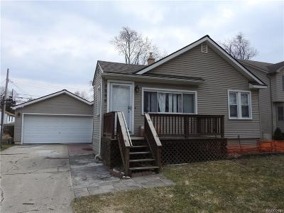 Troy Single Family Home For Sale: 3296 Troy Drive