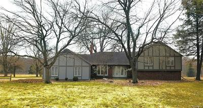 Oakland County Single Family Home For Sale: 1650 Glen Wood