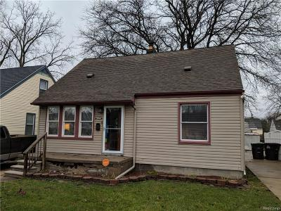 Taylor Single Family Home For Sale: 12249 Cornell Street