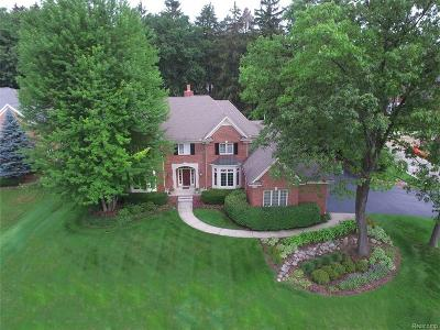 Bloomfield Twp Single Family Home For Sale: 4352 Spruce Hill Lane