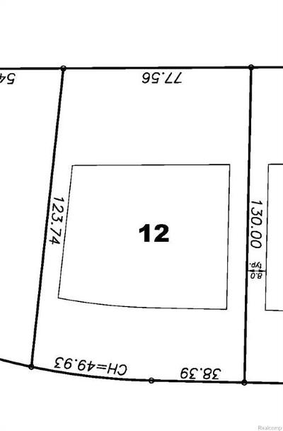 South Lyon Residential Lots & Land For Sale: 484 Princeton Drive