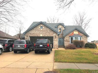 Sterling Heights Single Family Home For Sale: 4641 Bayleaf Drive