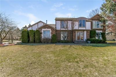 Farmington Single Family Home For Sale: 38275 Fleetwood Drive