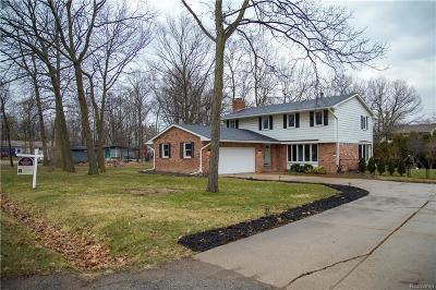 Grosse Ile, Gross Ile, Grosse Ile Twp Single Family Home For Sale: 22035 Meridian Road