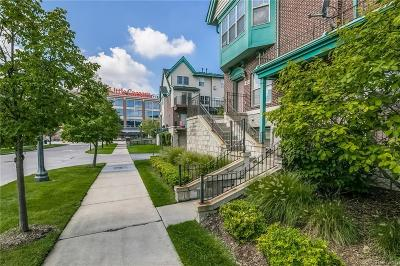 Detroit Condo/Townhouse For Sale: 49 Adelaide Street #1