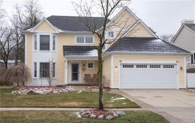 Auburn Hills Single Family Home For Sale: 871 Hathaway Drive