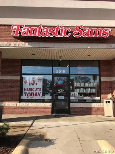 Commerce Twp Commercial For Sale: 2550 Union Lake Road