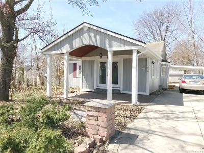 Commerce Twp Single Family Home For Sale: 1854 Union Lake Road