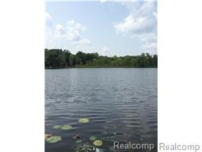 West Bloomfield Twp Residential Lots & Land For Sale: 2636 Bay Drive