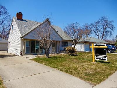 Dearborn, Dearborn Heights Single Family Home For Sale: 7469 N Vernon Street