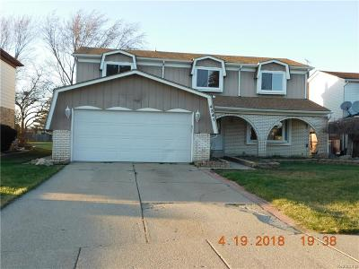Sterling Heights Single Family Home For Sale: 4341 Bloomfield Drive