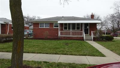 Trenton Single Family Home For Sale: 2287 Newman Street