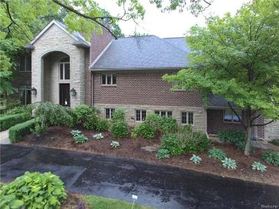 Bloomfield Twp Single Family Home For Sale: 3930 Mount Vernon Drive