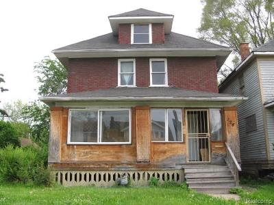 Macomb County, Oakland County, Wayne County Single Family Home For Sale: 124 Florence Street