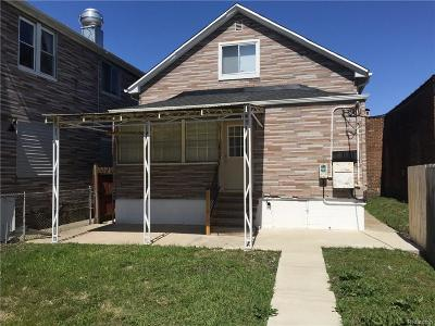 Hamtramck Single Family Home For Sale: 3432 Caniff Street
