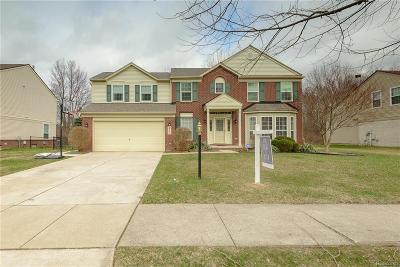 Van Buren Twp Single Family Home For Sale: 14889 Brookside Drive