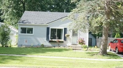 Brandon Twp MI Single Family Home For Sale: $119,900