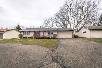 Oakland County Single Family Home For Sale: 2375 Phillips Road