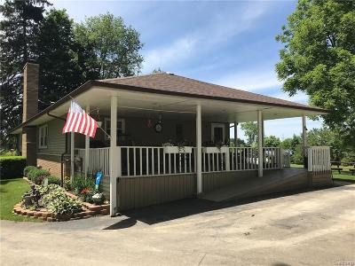 Livingston County Single Family Home For Sale: 11622 Durand Road