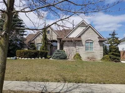 Plymouth Single Family Home For Sale: 9088 Countrywood