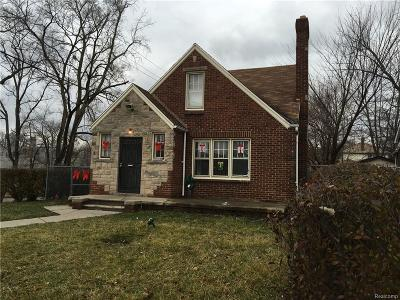 Detroit Single Family Home For Sale: 15319 Sussex Street