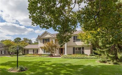 Bloomfield Twp Single Family Home For Sale: 3380 Morningview Terrace