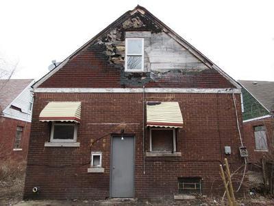 Detroit Single Family Home For Sale: 15363 Birwood Street