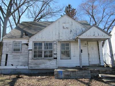 Detroit Single Family Home For Sale: 8601 Burt Road