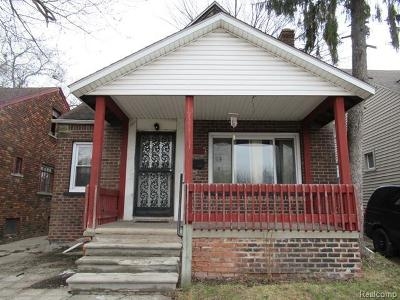 Detroit Single Family Home For Sale: 14593 Indiana Street