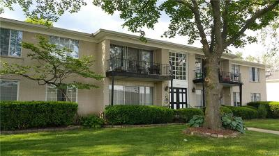 Southfield Condo/Townhouse For Sale: 29137 Evergreen Road #13
