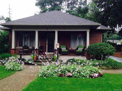 City Of The Vlg Of Clarkston Single Family Home For Sale: 79 N Holcomb Road