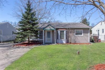Commerce Single Family Home For Sale: 3011 Roselawn Street