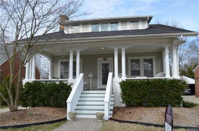 Birmingham Single Family Home For Sale: 1460 Maryland Boulevard